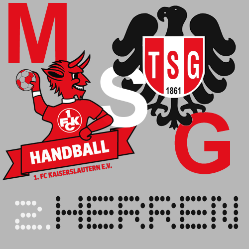 2. Herren - HR Göllheim/Eisenberg 2 23:24  (8:10) @ Schulzentrum-Süd  Kaiserslautern