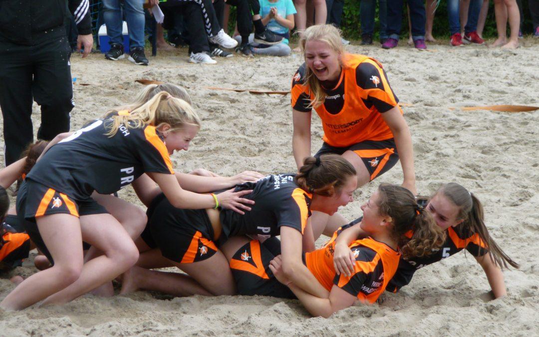 Handballteufel auch im Sand erfolgreich