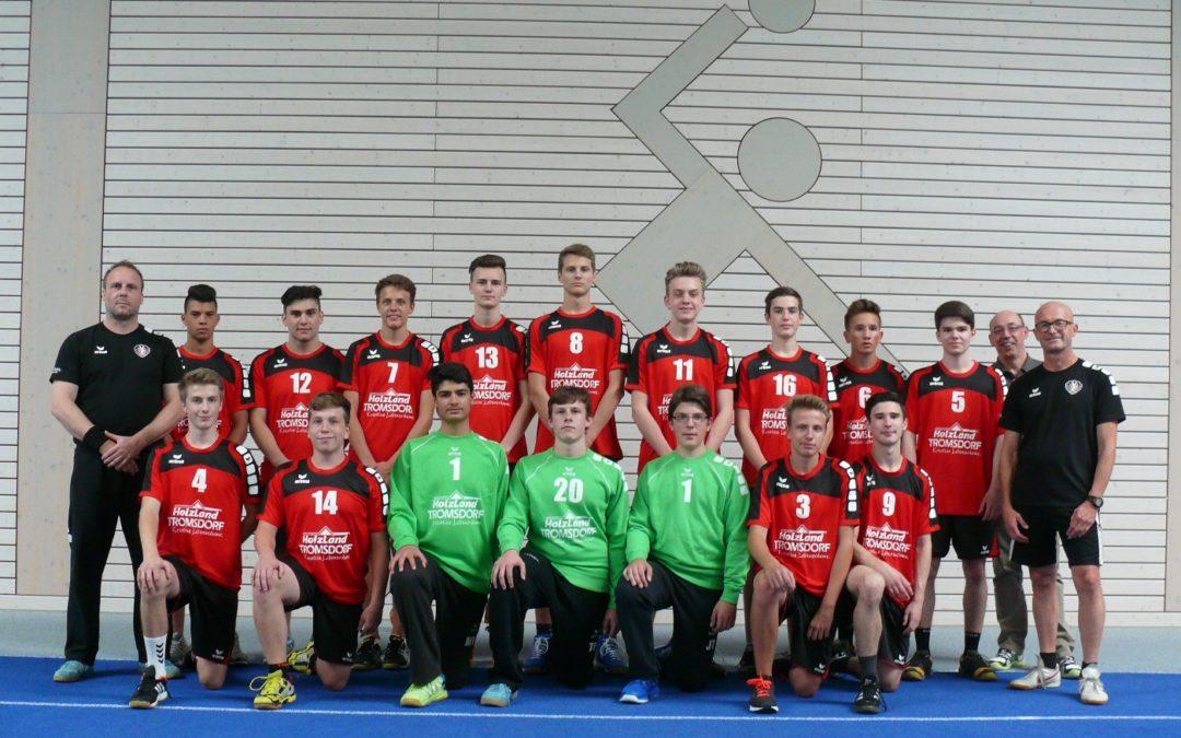 Männliche B-Jugend gewinnt Heimspiel gegen JSG Wörth/Hagenbach mit 25:23 Toren