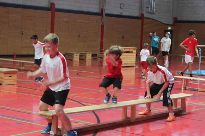 Handball-Feriencamp erfolgreich gestartet