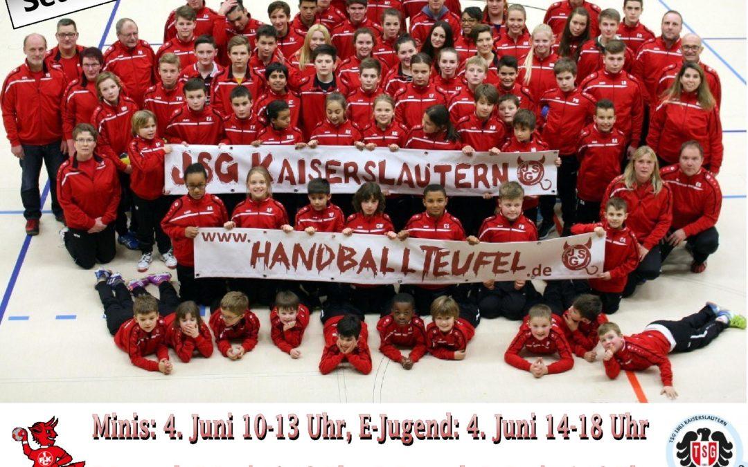 Einladung zum 2. Pfingstturnier der JSG Kaiserslautern