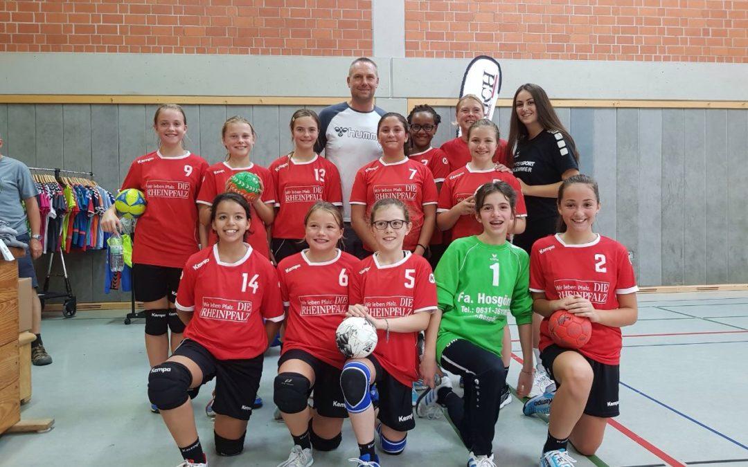 VTZ-Sparkassen Girlscup in Zweibrücken