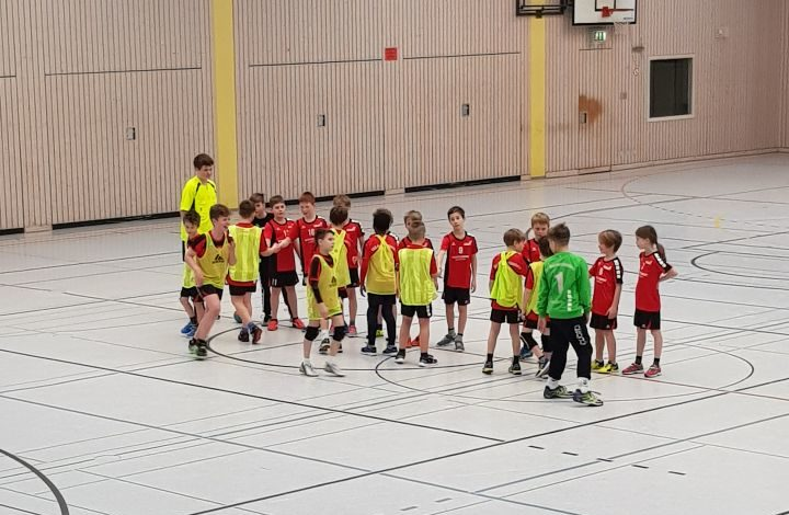E-Jugend verliert knapp besetzt auswärts beim TSV Speyer