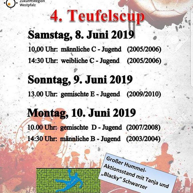 Einladung zum 4. Pfingstturnier der JSG Kaiserslautern
