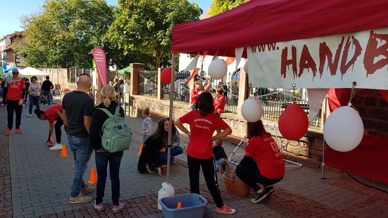 Handballteufel auf Kinderaltstadtfest