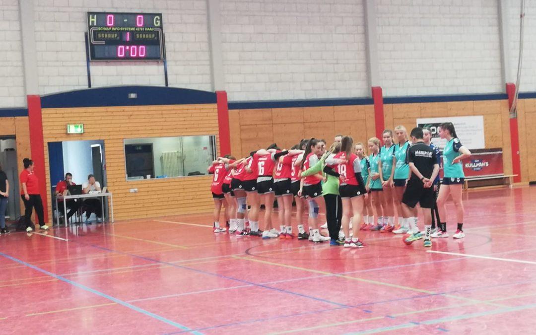 Heimspiel der weibl. C am Tag des Handball