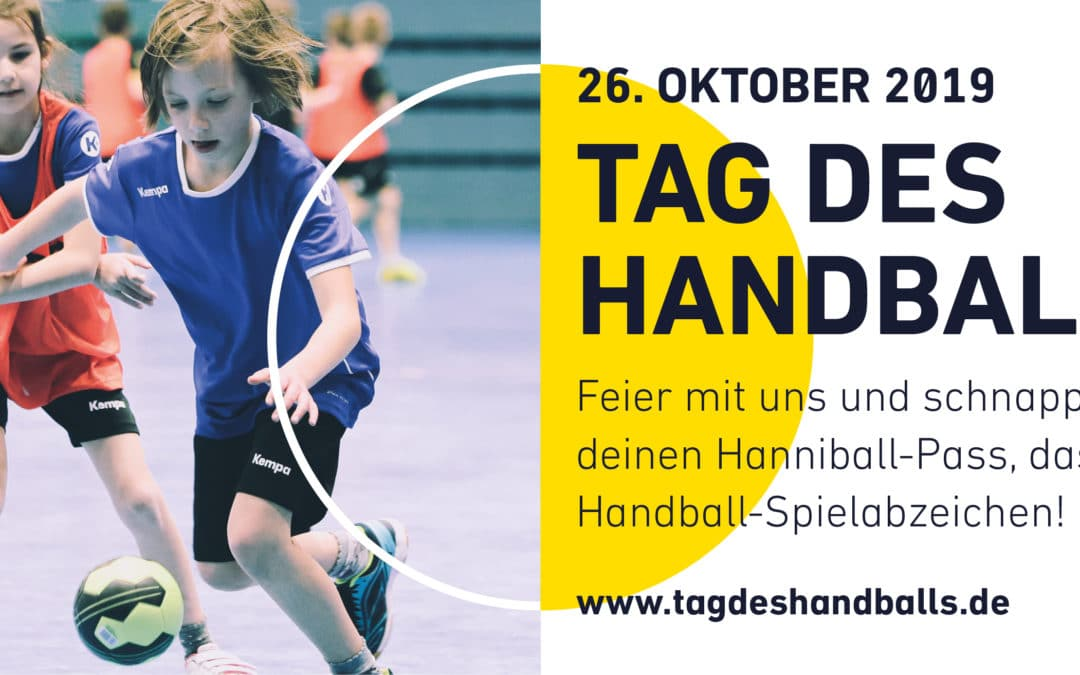 DHB Tag des Handballs am 26. Oktober
